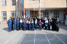 دانش آموزان مسیحی ارومیه میلاد حضرت مسیح (ع) را جشن گرفتند