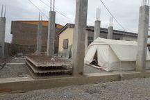 خانوادههای سیلزده چادرنشین گمیشان کمک هزینه اسکان میگیرند