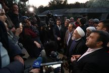 روحانی: به خسارت دیدگان کمک بلاعوض می شود و وام بلندمدت کمبهره خواهیم داد/ برای عبور از مشکلات باید دست به دست هم دهیم