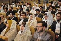 جشن ازدواج 30 دانشجو در دانشگاه علوم پزشکی یاسوج برگزار شد