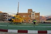 10 حادثه دیده توسط بالگرد به مراکز درمانی البرز منتقل شدند