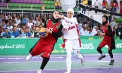 قهرمانی تیم ملی بسکتبال سه نفره بانوان قهرمان رقابتهای غرب آسیا