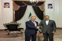 ورود رئیس جمهور تاتارستان به مشهد