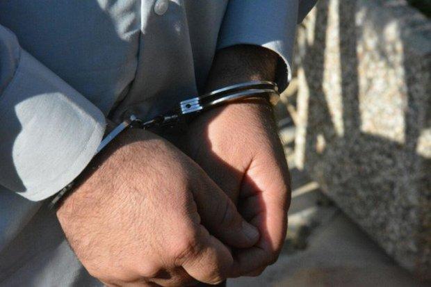 اخاذ مامورنما در مشهد دستگیر شد