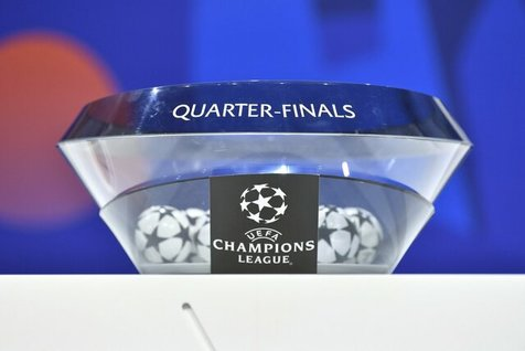 قرعه کشی مرحله یک چهارم و نیمه نهایی لیگ قهرمانان اروپا انجام شد/ مسی و رونالدو تا فینال رقیب هم نمی شوند