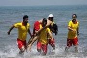 نجات چهار گردشگر از غرق شدن در نوار ساحلی آستارا