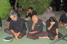 آیین ویژه دومین شب قدر در شهرستان قاینات برگزار شد