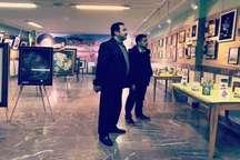 نمایشگاه هنرهای تجسمی یک هنرمند زن در سلماس دایر شد