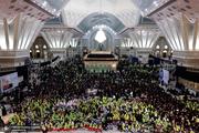 مراسم سه سالگان حسینی(ع) در حرم امام خمینی