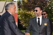 خداحافظی پیمان معادی با جشنواره فیلم ونیز / عکس