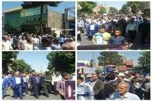 مردم پیشوادر راهپیمایی باشکوه 15 خرداد ، تاریخ انقلاب را تکرار کردند