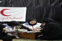 اجرای طرح آموزشی جمعه ، ایمان و ایمنی هلال احمر در گیلان