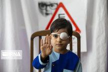 هدفگذاری پوشش ۳ هزار کودک دامغانی در غربالگری بینایی