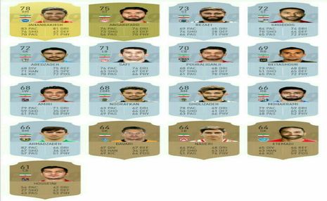 بهترین های ایران در FIFA 19