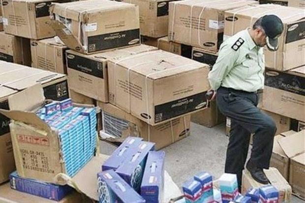 چهار میلیارد ریال کالای قاچاق در کنگاور کشف شد