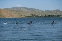 اردوی دختران جوان قایقرانی در اردیبل
