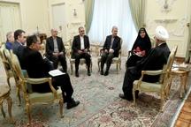 سفرای جدید ایران در 4 کشور جهان با دکتر روحانی دیدار کردند
