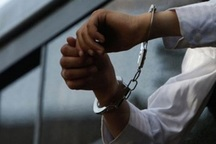 سارق حرفه ای موتور سیکلت در گچساران دستگیر شد