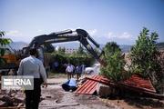 ۴ ویلا به ارزش ۱۲ میلیارد تومان در فیروزکوه تخریب شد