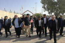 مسئولان استانهای کرمانشاه و دیاله عراق در مرز منذریه باهم دیدار کردند