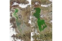 ناسا: دریاچه ارومیه دوباره جان گرفت + عکس