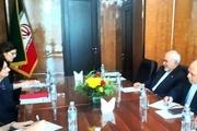 دیدار معاون دبیرکل سازمان ملل با ظریف