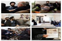 دیدار سید علی خمینی با خانواده شهدای ۱۵ خرداد