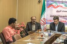 فرماندار مهریز: خبرنگاران با نقدهای منصفانه خود دولت را کمک کنند