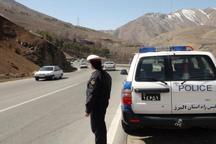 اجرای محدودیت ترافیکی برای تخلیه بار ترافیکی در جاده کرج - چالوس