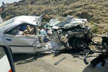 9 کشته و زخمی در تصادف محور فیروزآباد به شیراز