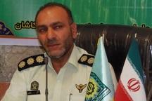 13 نفر به جرم دزدی در کاشان دستگیر شدند