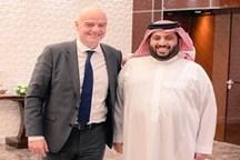 جلسه رییس هایت ورزش عربستان با رئیس فیفا!