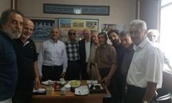 جلسه سرپرست و هیات مدیره استقلال با معاون رئیس جمهور