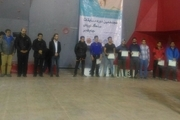 مسابقات سنگنوردی انتخابی تیم ملی مردان ایران در زنجان به پایان رسید