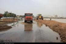مشکل ورود آب به اهواز از کانال سلمان درحال رفع است