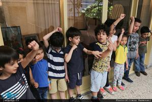 بازدید جمعی از کودکان از جماران