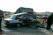 کشته شدن 2 نفر بر اثر تصادف در زاهدان