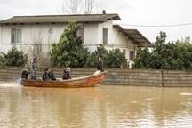 سوخت رسانی به قایق ها در شهر سیل زده آق قلا رایگان شد