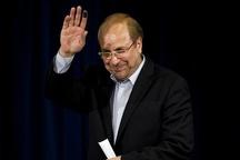 شهردار تهران آمده که تا آخر در انتخابات بماند