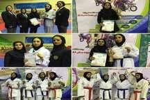 اصفهان در مسابقات کاراته نوجوانان دختر کشور قهرمان شد