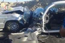 حادثه رانندگی در مبارکه یک کشته و 4 مصدوم برجاگذاشت