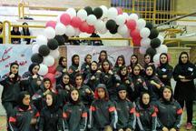 فارس قهرمان رقابت های موی تای دختران کشور شد