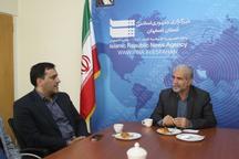 مدیرکل پایانه ها و حمل نقل جاده ای اصفهان از ایرنا دیدن کرد