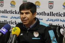 مربی استقلال خوزستان: به ماندن در لیگ برتر امیدواریم