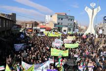 حضور حماسی مردم خلخال در راهپیمایی 22 بهمن