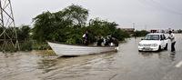 مسدود بودن 2 محور در خوزستان به علت سیلاب