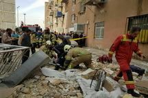 انفجار ساختمان مسکونی در جنوب تهران 2 مصدوم داشت