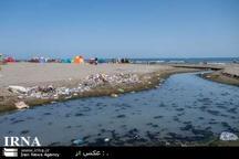 سواحل مازندران درمحاصره رودخانه های آلوده