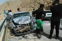 تصادف در مسیر ایذه به دهدز هشت مصدوم داشت