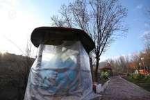 خلوت بودن پارک های تبریز به دلیل شرایط جوی و کاهش دما